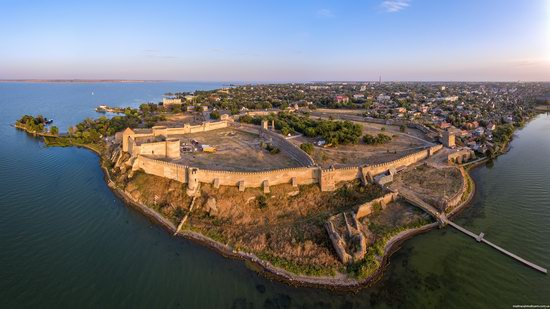 Akkerman Fortress from above, Ukraine, photo 1
