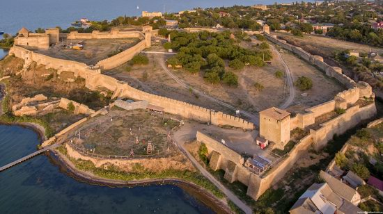 Akkerman Fortress from above, Ukraine, photo 10