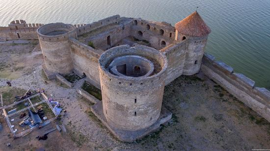 Akkerman Fortress from above, Ukraine, photo 11