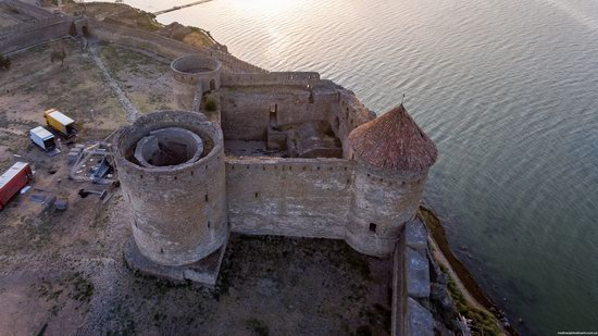 Akkerman Fortress from above, Ukraine, photo 12