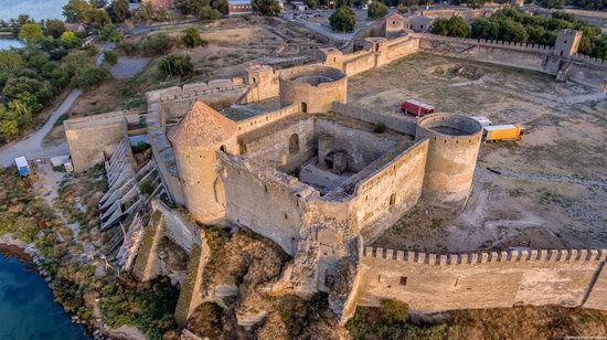 Akkerman Fortress from above, Ukraine, photo 13