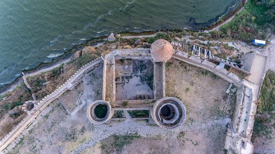 Akkerman Fortress from above, Ukraine, photo 14