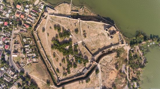 Akkerman Fortress from above, Ukraine, photo 15