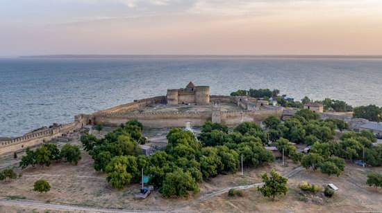 Akkerman Fortress from above, Ukraine, photo 16