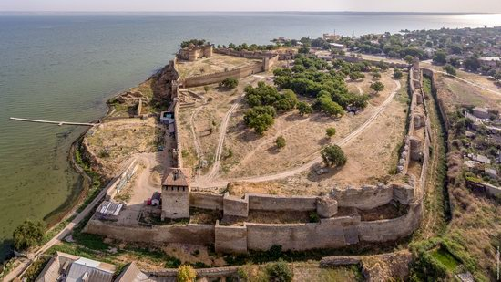 Akkerman Fortress from above, Ukraine, photo 17