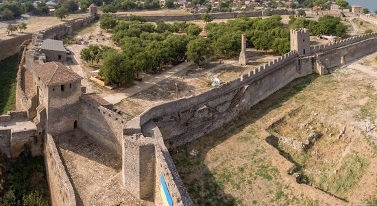Akkerman Fortress from above, Ukraine, photo 19