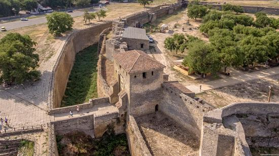 Akkerman Fortress from above, Ukraine, photo 20