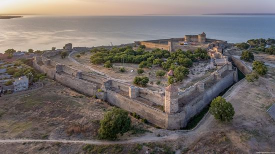 Akkerman Fortress from above, Ukraine, photo 4