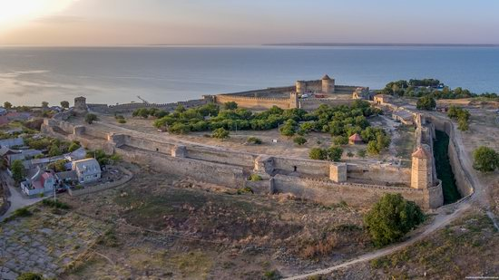 Akkerman Fortress from above, Ukraine, photo 5
