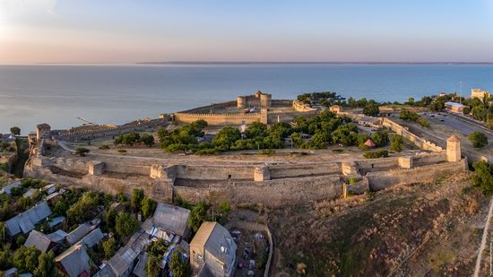Akkerman Fortress from above, Ukraine, photo 6