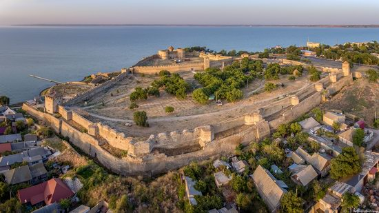 Akkerman Fortress from above, Ukraine, photo 7