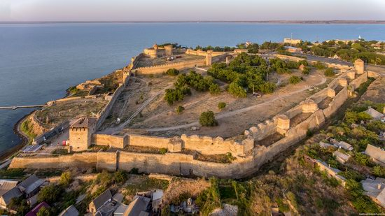 Akkerman Fortress from above, Ukraine, photo 8