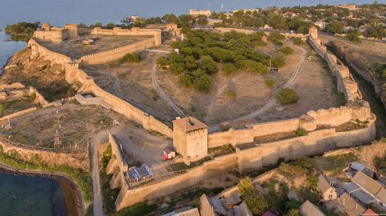 Akkerman Fortress from above, Ukraine, photo 9