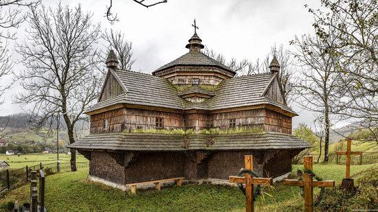 Ascension (Strukivska) Church in Yasinya, Ukraine, photo 12