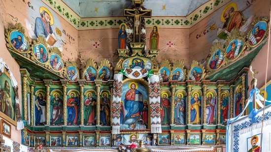Church of the Holy Apostles Peter and Paul in Urman, Ukraine, photo 12