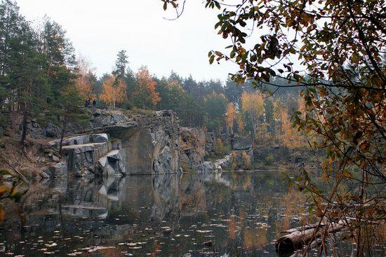 Abandoned and Flooded Korostyshivsky Quarry, Ukraine, photo 1