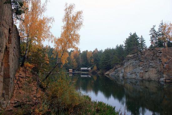 Abandoned and Flooded Korostyshivsky Quarry, Ukraine, photo 14