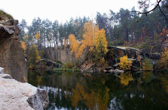 Abandoned and Flooded Korostyshivsky Quarry, Ukraine, photo 5