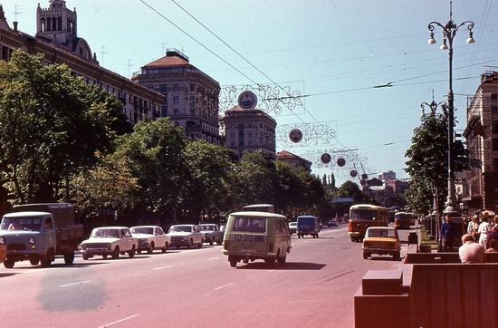 Kyiv - the Capital of Soviet Ukraine in 1985, photo 7