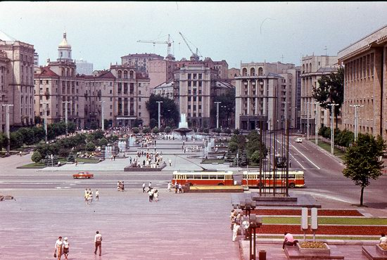 Kyiv - the Capital of Soviet Ukraine in 1985, photo 8