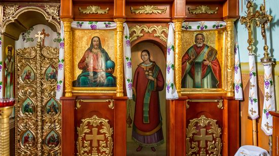 Wooden Church of St. Nicholas in Lishchyny, Lviv region, Ukraine, photo 12
