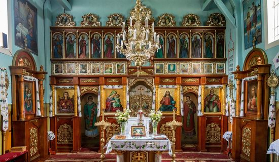 Wooden Church of St. Nicholas in Lishchyny, Lviv region, Ukraine, photo 7