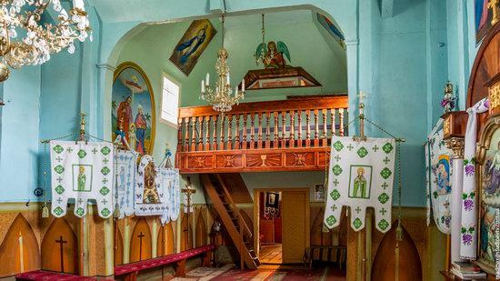 Wooden Church of St. Nicholas in Lishchyny, Lviv region, Ukraine, photo 8