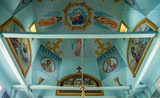 Wooden Church of St. Nicholas in Lishchyny, Lviv region, Ukraine, photo 9