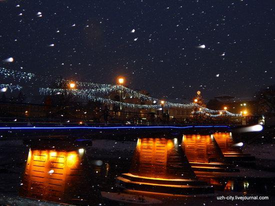 Snow-covered Streets of Uzhhorod, Ukraine, photo 13