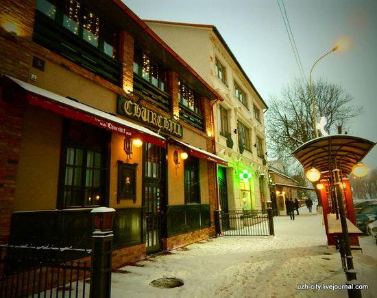 Snow-covered Streets of Uzhhorod, Ukraine, photo 2