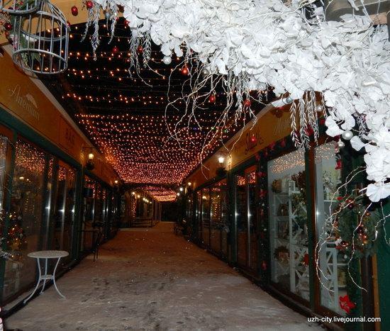 Snow-covered Streets of Uzhhorod, Ukraine, photo 21