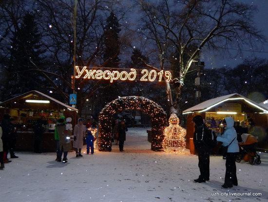 Snow-covered Streets of Uzhhorod, Ukraine, photo 6
