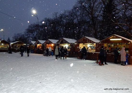 Snow-covered Streets of Uzhhorod, Ukraine, photo 7