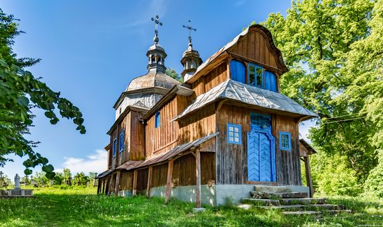 St. Nicholas Church, Nadrichne, Ternopil region, Ukraine, photo 1