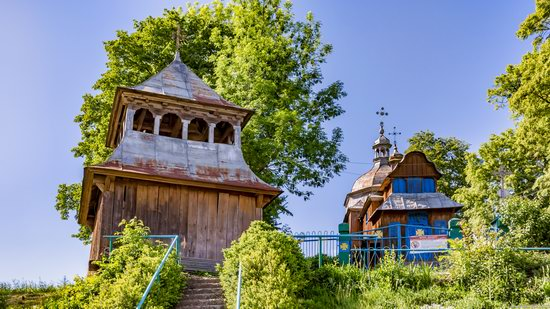 St. Nicholas Church, Nadrichne, Ternopil region, Ukraine, photo 12