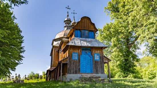 St. Nicholas Church, Nadrichne, Ternopil region, Ukraine, photo 2