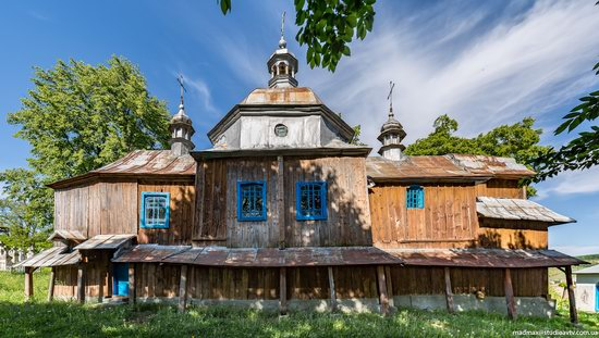 St. Nicholas Church, Nadrichne, Ternopil region, Ukraine, photo 3