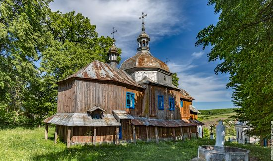 St. Nicholas Church, Nadrichne, Ternopil region, Ukraine, photo 5