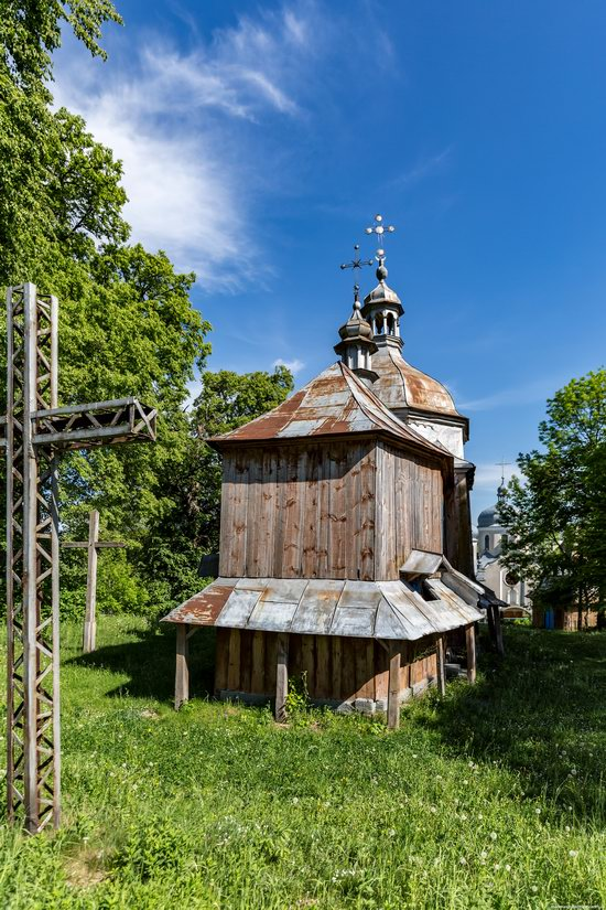 St. Nicholas Church, Nadrichne, Ternopil region, Ukraine, photo 6