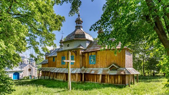 St. Nicholas Church, Nadrichne, Ternopil region, Ukraine, photo 7