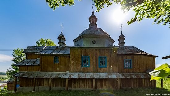 St. Nicholas Church, Nadrichne, Ternopil region, Ukraine, photo 8