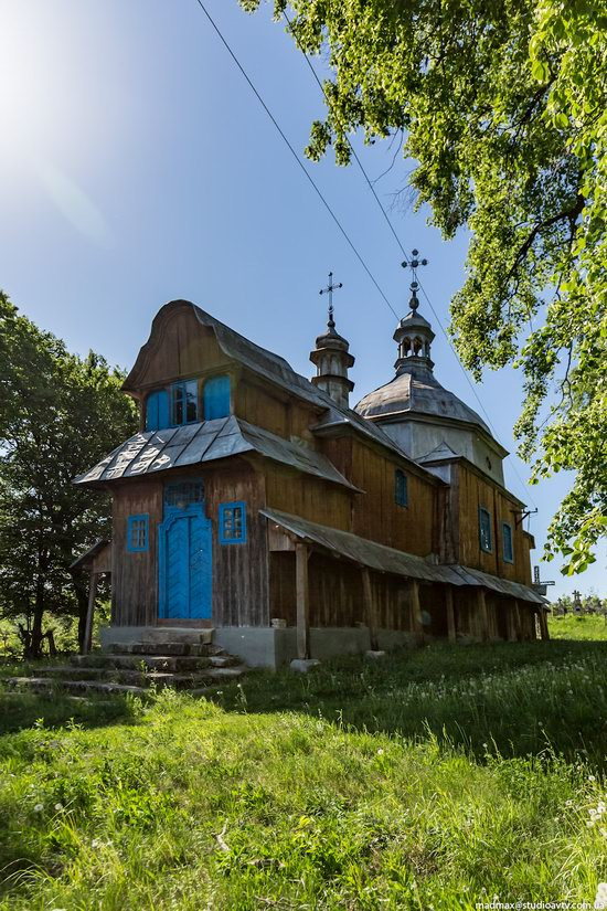 St. Nicholas Church, Nadrichne, Ternopil region, Ukraine, photo 9