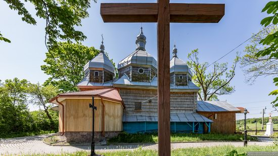 Church of St. Paraskeva in Pluhiv, Lviv region, Ukraine, photo 8