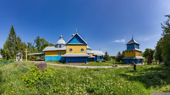 Church of St. Basil the Great in Muzhyliv, Ternopil region, Ukraine, photo 6
