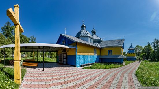 Church of St. Basil the Great in Muzhyliv, Ternopil region, Ukraine, photo 7
