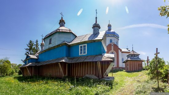 Church of St. Nicholas in Lazarivka, Ternopil region, Ukraine, photo 1