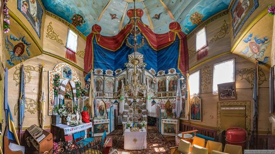 Church of St. Nicholas in Lazarivka, Ternopil region, Ukraine, photo 10