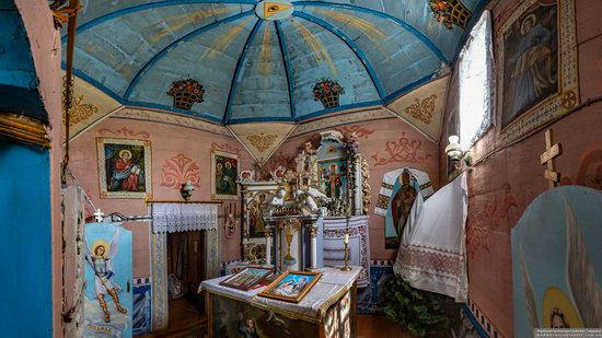 Church of St. Nicholas in Lazarivka, Ternopil region, Ukraine, photo 11