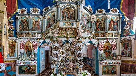 Church of St. Nicholas in Lazarivka, Ternopil region, Ukraine, photo 12