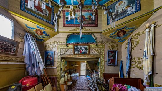 Church of St. Nicholas in Lazarivka, Ternopil region, Ukraine, photo 13